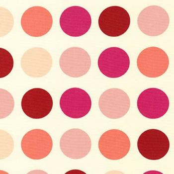 Robert Kaufman Canvas Sevenberry fuchsia dots