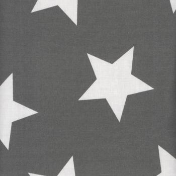 AU MAISON Wachstuch Star Giant Charcoal Sterne
